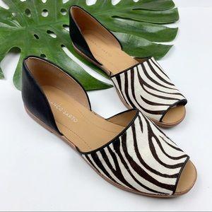 Franco Sarto Shoes - Franco Sarto Zebra D'orsay Flats 8